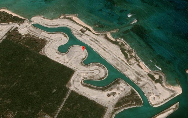 Foto aerea Exuma